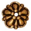 Bead Cap Tiffany 8mm Antique Gold